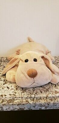 "VHTF 15"" Toys R Us Tan Plush Soft & Floppy Dog Puppy"