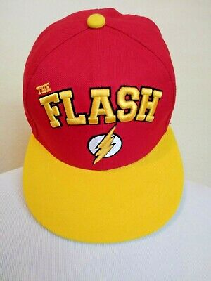 The Flash Justice League Six Flags Texas Park Snapback Baseball Cap Hat