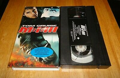 Mission : Impossible III 3 (VHS, 2006) Tom Cruise Action Ultra Rare Promo Copy