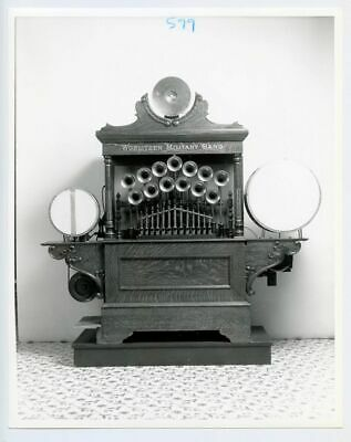 "Sotheby's Auction Photo Wurlitzer 125 Military Band Organ 8"" x 10"" B&W"