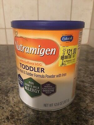 New Sealed Can Of Nutramigen With Enflora Lgg Toddler Formula 12.6 Exp 2/1/2020