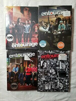 Entourage DVD TV Series Seasons 1 - 3 New Sealed box sets 10-Discs total