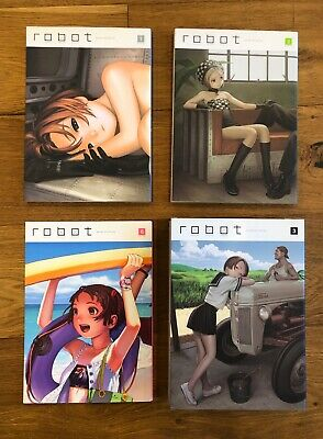 Robot: Super Color Comic 1 2 3 6 + Flat / Range Murata / Wani / Manga / NM