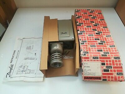 Danfoss Rt34 017-5118 Thermostat -25C To +15C * New In Box *
