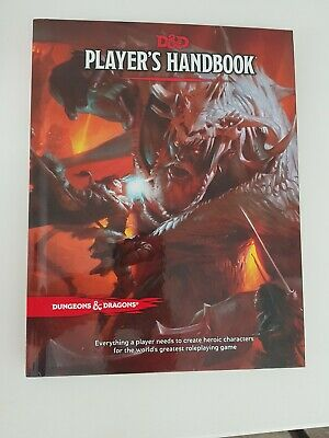 Dungeons and Dragons Players Handbook for 5th Edition D&d 5e Roleplaying Game