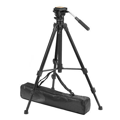 ZOMEI VT111 Professional DV Camcorder Camera Tripod Fluid Pan Head Heavy Duty