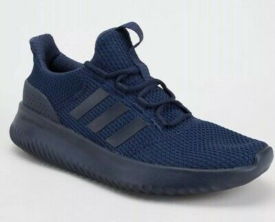 PR* ADIDAS CLOUDFOAM Ultimate Mens Navy Lace Up Trainers