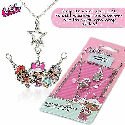 LOL Surprise Girls Jewellery Accessories Necklace With Interchangeable Charms