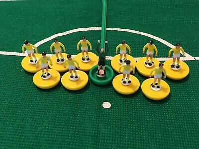 Subbuteo - Deluxe Yellow and White Team