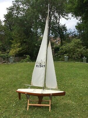 VINTAGE MARBLEHEAD MODEL Pond Yacht - £850 00 | PicClick UK