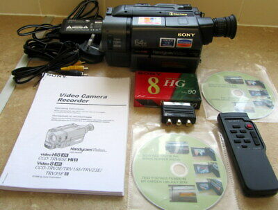 Sony Handycam Ccd-Trv15E Video 8 Camcorder From 1998 Excellent Condition Tested