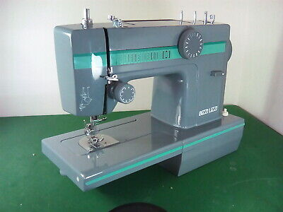 Rare Retro BIZZI LIZZI Portable Freearm Sewing Machine, Made in Denmark