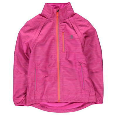 Karrimor X Convert Waterproof Shell Jacket Girls Xlite Pink Age 11-12 *REF57