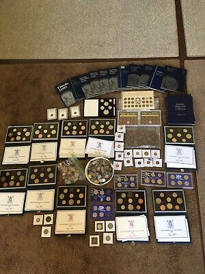 HUGE Coin Collection! 100's Of Buffalo Nickels, Proof Sets, Lincolns, Much More!