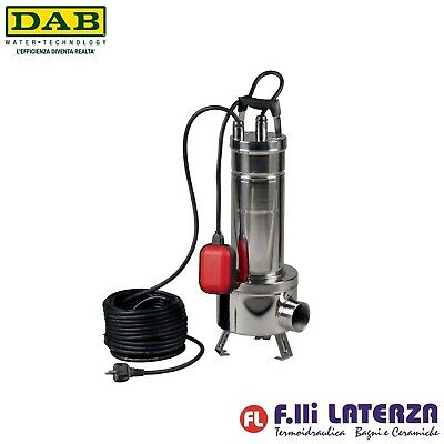 CENTRIFUGAL PUMP SUBMERSIBLE Stainless Steel DAB Model Feka