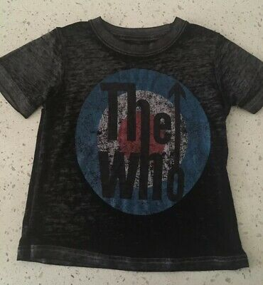 THE WHO Toddler Baby T Shirt Sz 18 Months Classic Rock Band Tee Top