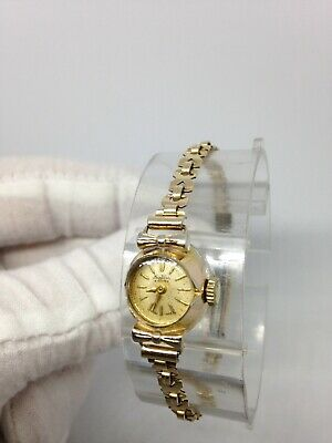 Ladies Vintage 15J Bentima Star Gold Watch - Working And Very Good Condition