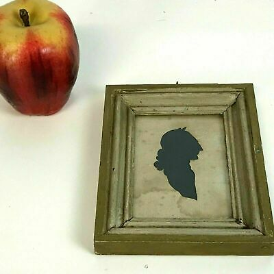 Antique Early 19th Silhouette Cut out of English Man