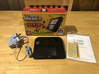 NINTENDO 2DS Handheld Games System With New Super Mario Bros. 2 - Blue & Black