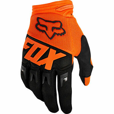 Fox Dirtpaw Kids Youth Childrens Motocross MX Race Gloves Orange YS (5)