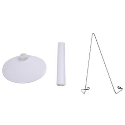 2X(Support stand of Doll White Adjustable 5.9 to 8.3 inches. M8N4) E03