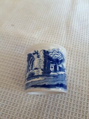 Spode blue and white Italian egg cup