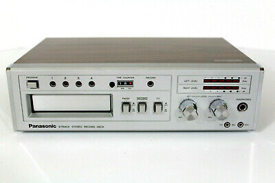 Panasonic RS-856 Vintage Stereo 8 Track Tape Deck. (REFURBISHED)