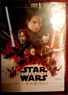 Dvds  Star Wars The Last Jedi Brand New And Sealed ! Dvd Brand New !