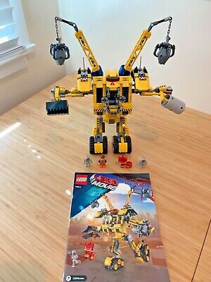 LEGO MOVIE 70814 Emmet's CONSTRUCT-O-MECH - Instructions