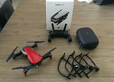DJI MAVIC AIR FLAME Red Drone TapFly 4k/30fps Panorama 32 MP CMOS