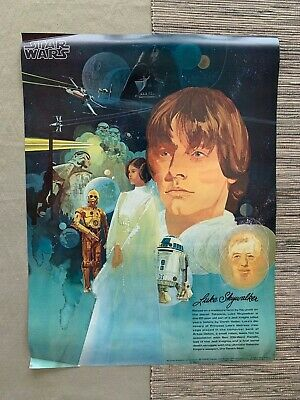 TWO OF A SET OF FOUR STAR WARS POSTERS - Coca-Cola,  Burger Chef - 1977