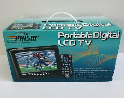 DIGITAL PRISM ATSC 710 7 Portable LCD TV With Built In ATSC
