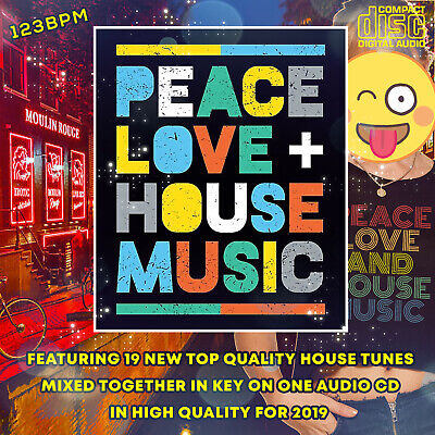 Peace Love & House Music 2019 NEW DJ MIXED CD 🌟 New Dance Floor Club Music 🌟