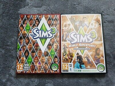 The Sims 3 + World Adventures Expansion Pack PC: Mac