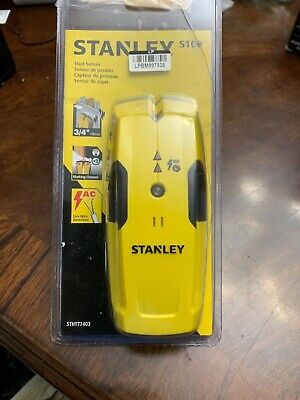 GENUINE STANLEY S100 STHT77403 AUTOMATIC STUD FINDER SENSOR LIVE WIRE DETECTOR