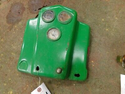 John Deere B tractor dash with gauges   Tag #354