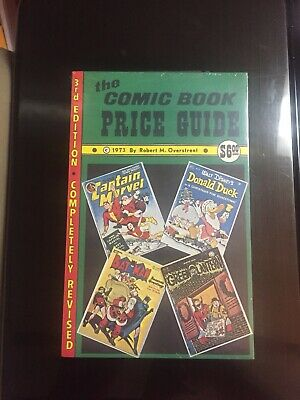 1973 Overstreet Comic Book Price Guide #3 Sb Mint! Near Perfect! Shrinkwrapped!!