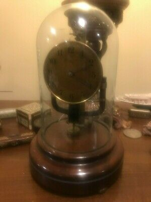 Bull Clockette  French Electric clock Art Deco Bronze / Brass, Working Tested