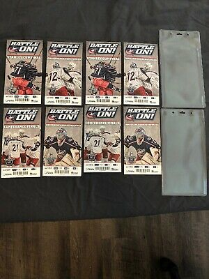 NHL Columbus Blue Jackets 2014 Stanley Cup Tickets Set Of 8