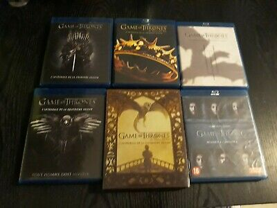Lot 6 Blu Ray Saison 1 A 6 Game Of Thrones