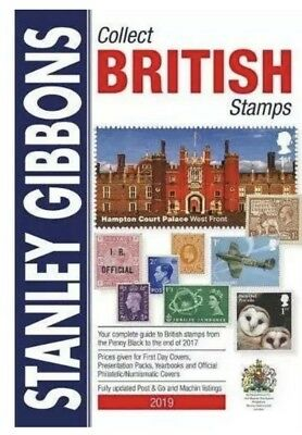 New Out Stanley Gibbons 2019 Collect British Stamps Catalogue   9781911304388