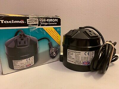 Tacima USA To Europe 300 Watt European Power Voltage Converter 220 to 110 Volt
