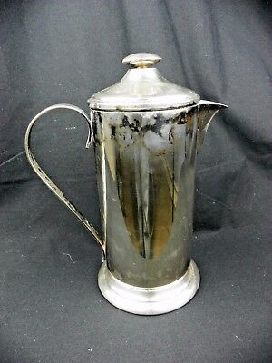Vintage Andover Silver Plated Martini Pitcher Cocktail Shaker Drink Mixer