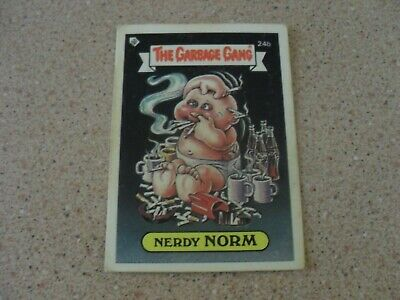 The Garbage Gang series 1 (AUS series) 24B NERDY NORM card
