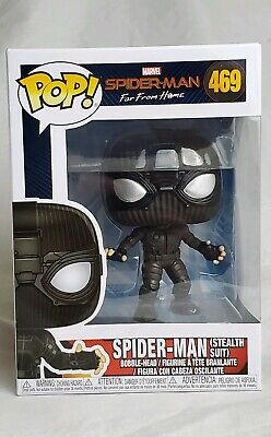 Funko Pop Spider-Man Far From Home: Spider-Man (Stealth Suit ) FREE SHIPPING