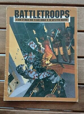 BATTLETROOPS A game of urban man-to-man combat in the Battletech Universe