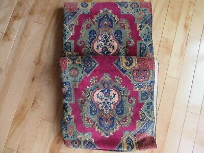 The Royal Company Karsten Hand Towel Blue Red Green Multicolor Velour Atelier