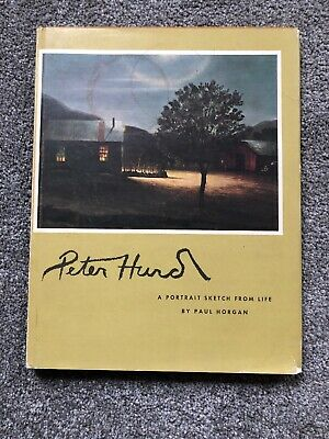 Peter Hurd Art Book,  Iconic Western Artist Hard To Find From Private Collector