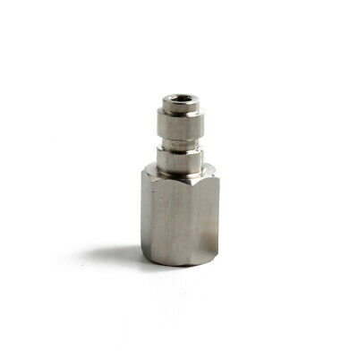 1/8 BSPP Male Quick Disconnect Coupler Silver Steel Rated&Seal For 5000 PSI 1pc