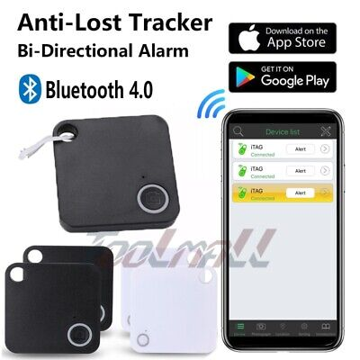 4 Pack GPS Tracker Trackr Cell Phone Bluetooth Anti Wallet Key Lost Finder